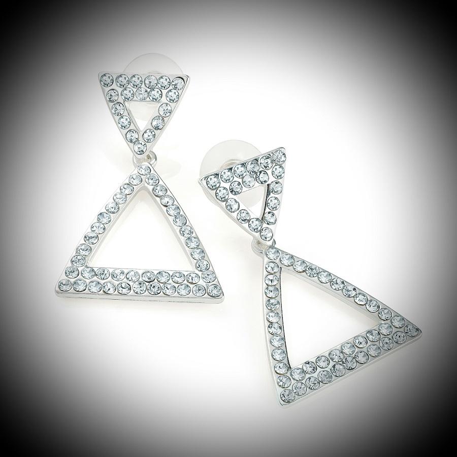Diamante Crystal earrings