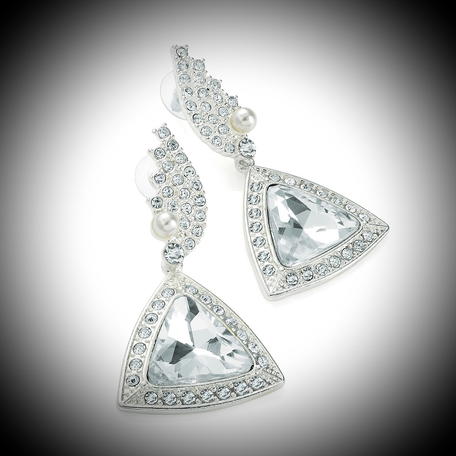 Diamante Stage Earrings