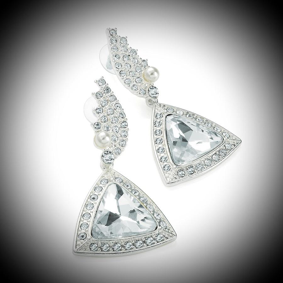 Diamante Stage Earrings