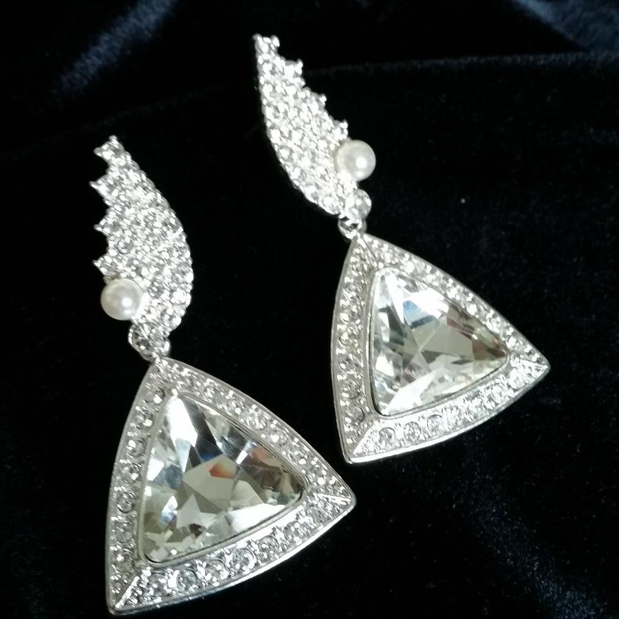 Diamante Bikini Competition Earringsn